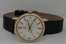 Vintage Omega Automatic Gold Plated 35mm Silver Dial Circa 1960s Watch