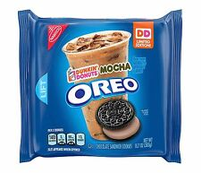 NEW Nabisco Oreo Dunkin' Donuts Mocha Limited ED Cookies FREE WORLD SHIPPING
