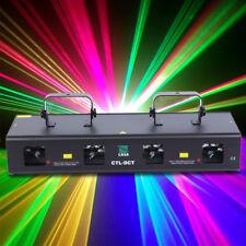760mW RGYB Laser Licht Bühnenbeleuchtung Stagelampe DMX Lichteffekt DJ Party Bar