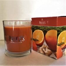 Prices Mandarin & Ginger Boxed Candles