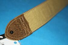 Fender Deluxe Tweed Guitar or Bass Strap, Leather Backing & Ends, MPN 0990610001