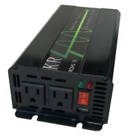 Car Power Inverter 500W Peak Power 1000W Pure Sine Wave 12V DC to 120V AC 60HZ