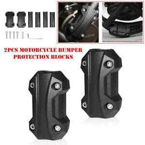 22/25/28MM Guard Bar Protection Motorcycle Engine Protect Bumper Fall 2PCS Block