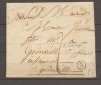 1840 SEINE INFre Lettre en local 1d rge + Boîte rurale F LA FRESNAYE X2971