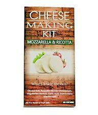 Cheese Making KIT Mozzarella & Ricotta Great Gift Present Birthday Make Your Own