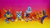 Digimon Digivolving Gabumon Metalgarurumon Greymon 4 Bandai Action Figures Parts