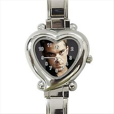 NEW* HOT ROBBIE WILLIAMS TAKE THAT Heart Italian Charm Wrist Watch Gift