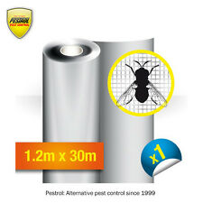 Fly screens / Dark Grey / insect screens - Fibreglass Mesh 1.2m x 30m - Pestrol