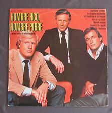 """Vinilo LP 12"""" 33 rpm HOMBRE RICO HOMBRE POBRE y otros éxitos de peliculas TV"""
