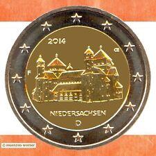 Sondermünzen BRD: 2 Euro Münze 2014 F Niedersachsen St. Michael Sondermünze