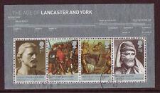 Gran Bretaña 2008 Lancaster y York Miniatura Hoja Fine Used