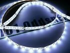 DIY Cool White Waterproof 3528 LED Light Strips with Wires Self Stick 1'-6' Foot