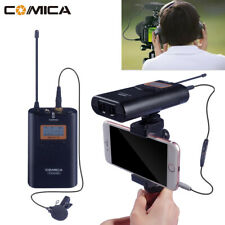 Wireless 100M Microphone For Samsung Huawei Smartphone iPhone Camera Camcorder