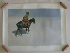 SET OF 4 FREDERIC REMINGTON PRINTS