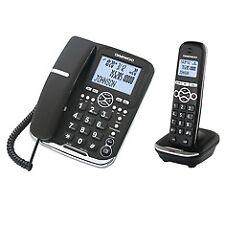 Telefono Daewoo Dtd-5500 negro DECT Combo