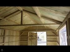 MADE TO MEASURE TANALISED GARDEN SHEDS / TOOL STORE / MAN CAVE - GARDEN