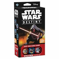 Star Wars Destiny Kylo Ren Starter Set + 12 Spirit of the Rebellion Boosters A