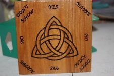 MINI Triquetra Pendulum  Board HANDMADE -Wicca, Witch, Pagan