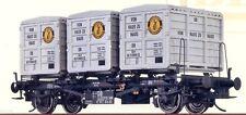 Brawa 37154 Behälterwagen Zündapp BTs30 DB Ep.3 / Lenz Kiss MTH Spur 0 OVP NEU