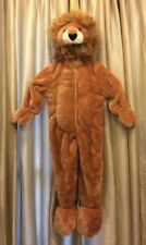 Soft Furry Plush Lined LION COSTUME SZ 3T EUC