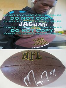 Marqise Lee New England Patriots USC trojans signed autographed football proof