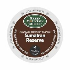 Green Mountain Coffee Fair Trade Organic Sumatran Reserve K-Cup Portion, 24 Ct