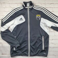 Vintage COLUMBUS CREW Adidas Warmup JACKET Youth XL MLS Soccer Full Zip