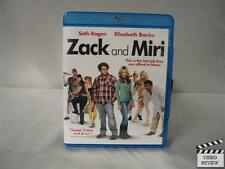 Zack and Miri Make a Porno (Blu-ray Disc, 2009) Seth Rogan Elizabeth Banks