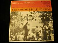 The Newport Folk Festival Vol 1 1960 1st Pressing LP Vanguard VSD-2087 1960 NM