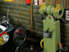 Doppel Schleifstein Schleifmaschine Grinder Werkzeug Diorama Deko Bausatz 1/18