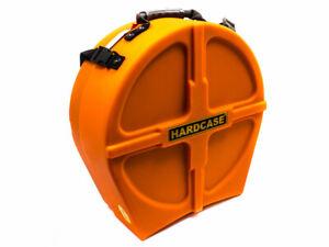 "Hardcase 14"" Fully Lined Snare Case - Orange"