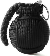 Paracord Grenade Outdoor Survival Hiking Hunting Emergency Multi Kit Compass