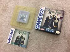The Addams Family - Nintendo Gameboy Original Complete with Manual Game Boy