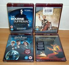 HD-DVD BUNDLE - Brand NEW / SEALED - Spartacus HARRY POTTER Bourne Supremacy + 1