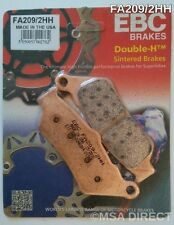 BMW F650 (1993 to 2012) EBC Double-H Sintered FRONT Brake Pads (FA209/2HH) 1 Set