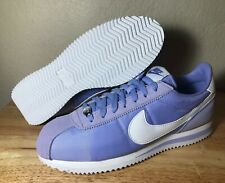 Nike Cortez Basic SE SZ 8 Twilight Pulse White Mens Casual Shoes New AT4650-400