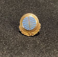 VINTAGE PAN AM AIRLINES 10k GOLD 35 YEARS SERVICE EMPLOYEE PIN