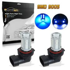 2PCS 9005 HB3 High Power 33-5730-SMD Blue Led Projector Fog Driving Light Lamps