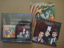 CROWDED HOUSE Self Titled + Temple Of Low Men AUSSIE 2 x CD 1996 - OOP FATPACK