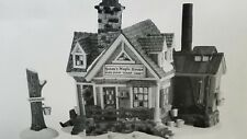 Department 56 New England Village Steen's Maple House Retired
