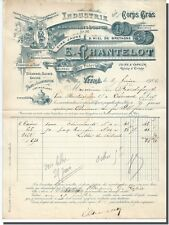 Invoice - E - Chakraborty Wax Yellow and Miel Brittany to glass 1902