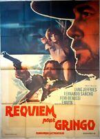 Plakat Kino Western Requiem Für Gringo - 120 X 160 CM