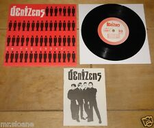 "DENIZENS ~ IN THE CROWD ~ I'M NOT RICH ~ UK CITIZENS PUNK 7"" 1980 WITH BOOKLET"