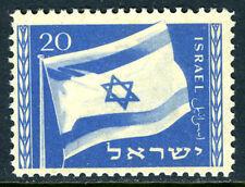 Israel 15, MNH. Flag of Israel, 1949