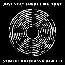 "Cut & Paste Records Just Stay Funky Like That CNP004 12"" Black Vinyl Scratch DJ"