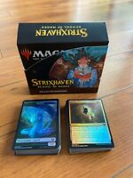 Strixhaven Collector Booster Box, FOIL bulk cards: common, uncommon, tokens, MTG