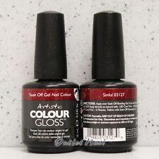 Artistic Colour Gloss - SINFUL #03127 WINTER 2013 UV Gel Nail Polish Design