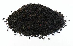 Black Sesame Seeds A Grade Premium Quality Free UK P&P