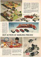 VINTAGE 1981 DUKES OF HAZZARD SMOKEY AND BANDIT PLAYSETS CATALOG PRINT AD
