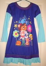 DOC/McSTUFFIN'S~girl's~LONG/SLEEVE/DARK/BLUE/LONG/NIGHTGOWN! (9/10) BRAND/NEW! @
